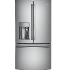 GE Profile™ Series ENERGY STAR® 27.8 Cu. Ft. French-Door Refrigerator with Keurig® K-Cup® Brewing System-Out of The Box Special