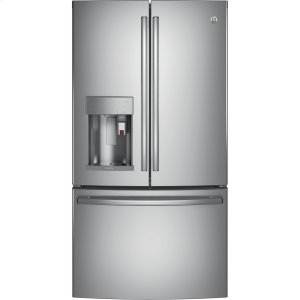 GE ProfileGE PROFILEGE Profile™ Series ENERGY STAR® 27.8 Cu. Ft. Smart French-Door Refrigerator with Keurig® K-Cup® Brewing System