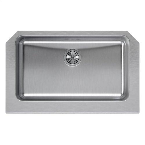 "Elkay Lustertone Classic Stainless Steel 33"" x 20-1/2"" x 8"", Single Bowl Farmhouse Sink"