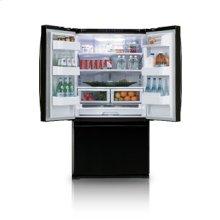 25.8 cu.ft. french door refrigerator - black