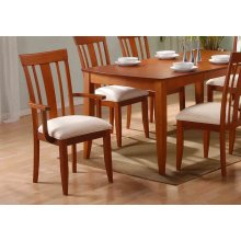 """DINING CHAIR - 2PCS / AMARETTO """"MODERN"""" STYLE"""