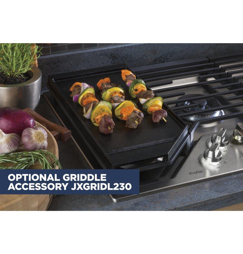 Jxgridl230ge Optional 30 Quot Cast Iron Griddle Standard Tv