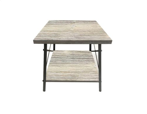 Emerald Home Chandler End Table Washed White T100-01-09