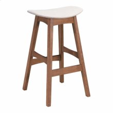 Allen Barstool Dove Gray & Walnut