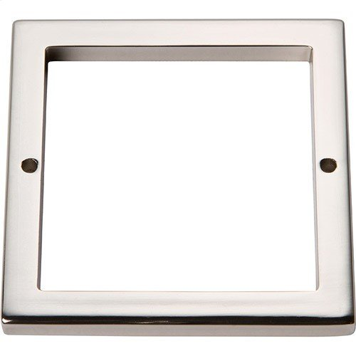 Tableau Square Base 3 Inch - Polished Nickel