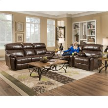 Reclining Console Loveseat