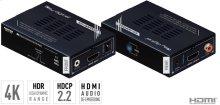 4K HDMI Extender, Booster & Buffer of EDID, TMDS, Hot Plug Control, Audio De-Embedding, HDR10, HDCP2.2