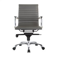 Omega Office Chair Low Back Grey-M2