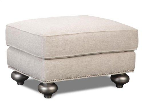 Silver Ottoman