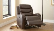 """Wyatt Power Recliner Chair, Brown, 35""""x39""""x40"""" Product Image"""