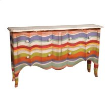 4 DRAWER SIDEBOARD