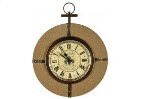 Burlap Clock