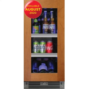XO APPLIANCE15in Beverage Center Overlay Glass LH