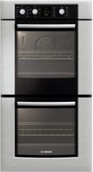 "300 Series 27"" Double Wall Oven HBN3550UC - Stainless steel Product Image"