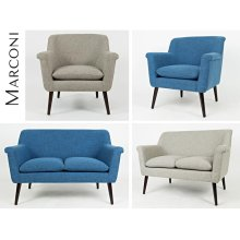 Marconi Loveseat - Ash Grey