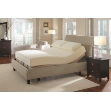 Premier Casual Beige Full Adjustable Bed