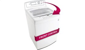 4.5 cu. ft. Ultra Large Capacity Top Load Washer with Front Control Design