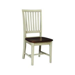 JOHN THOMAS FURNITUREMission Chair in Almond & Espresso