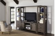 Madison County Entertainment Wall - Barnwood Product Image