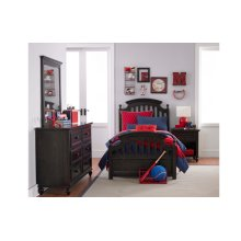 Academy - Molasses Panel Bed Twin 3/3