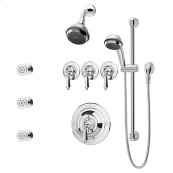 Symmons Water Dance® Shower/Hand Shower System - Polished Chrome