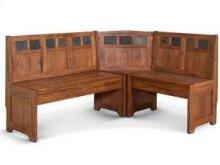Sedona Bench/ Long & Corner/ Back, Wood Seat
