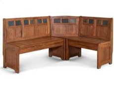 Sedona Bench/ Long & Corner/ Back, Wood Seat Product Image