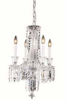 8904 Majestic Collection Hanging Fixture Chrome Finish (Elegant Cut Crystal Clear)