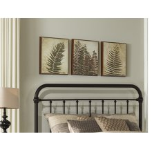 Kirkland Headboard - Twin - Dark Bronze