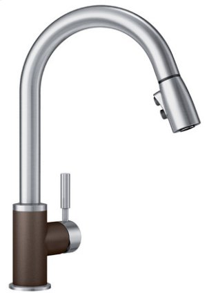 Blanco Sonoma With Pull-down Spray - Café Brown