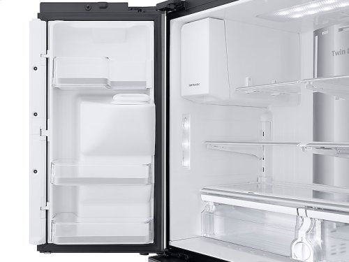 22 cu. ft. Counter Depth 4-Door French Door with 21.5 in. Connected Touch Screen Family Hub Refrigerator