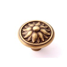 Fiore Knob A1472 - Antique English Matte