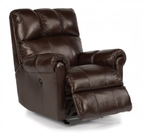 McGee Leather Power Recliner
