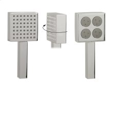 Aqua 2 square handshower - 2 functions