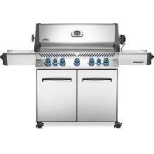 Prestige 665 RSIB Infrared Side & Rear Burners , Stainless Steel , Propane