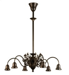 "27""W Early Electric 6 Arm Chandelier Hardware"