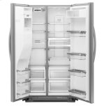 24 Cu. Ft. Counter-Depth Side-By-Side Refrigerator - White