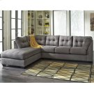 Benchcraft Maier Sectional with Left Side Facing Chaise in Charcoal Microfiber [FBC-2349LFSEC-CRC-GG] Product Image