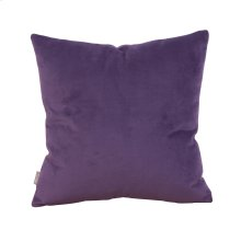 "16"" x 16"" Pillow Bella Eggplant"
