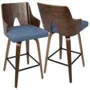 Ariana Counter Stool - Blue Product Image