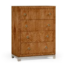 """Herringbone Argyle Blazer"" Chest of Four Drawers"
