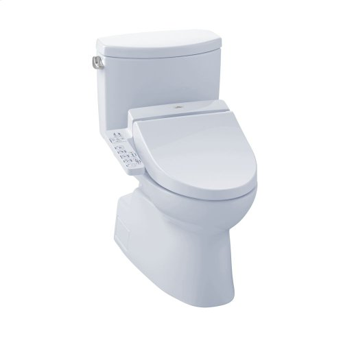 Vespin® II WASHLET®+ C100 Two-Piece Toilet - 1.28 GPF - Cotton
