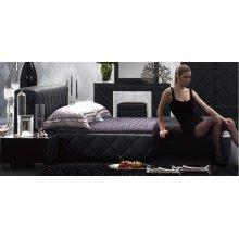 Modrest Serenade - Modern Black Eastern King Bed