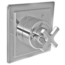 Single cross handle thermostatic trim only, to suit M1-4200 rough