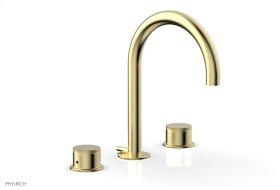 BASIC II Widespread Faucet 230-01 - Polished Brass Uncoated