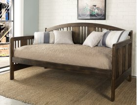Dana Daybed Back, Rail and Slats - Brushed Toast