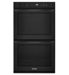 KitchenAid® 27-Inch Double Wall Oven, Architect® Series II - Black