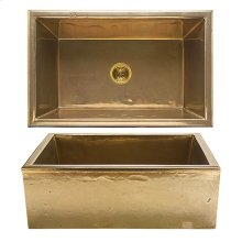 Alturas Apron Front Sink - KS3120 Silicon Bronze Light