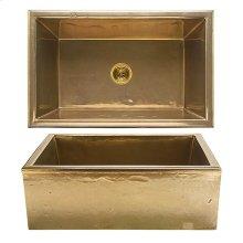Alturas Apron Front Sink - KS3120 White Bronze Brushed