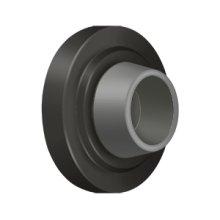 """Concave Flush Bumper 2-1/2"""" Diam. - Oil-rubbed Bronze"""